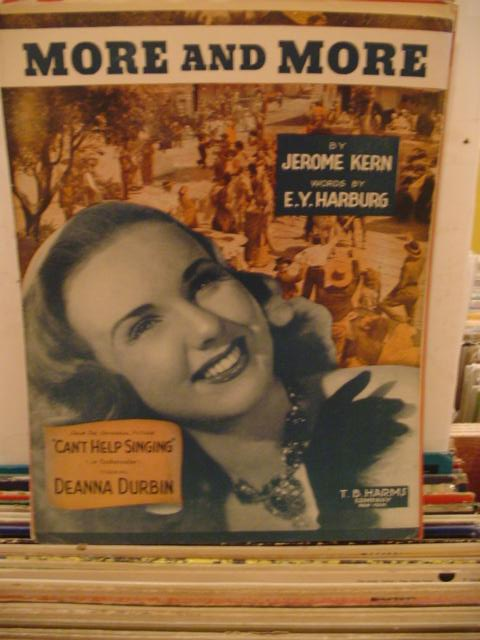 DEANNA DURBIN - MORE AND MORE