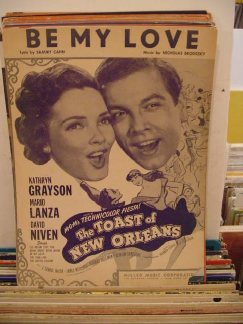 KATHRYN GRAYSON & MARIO LANZA - BE MY LOVE