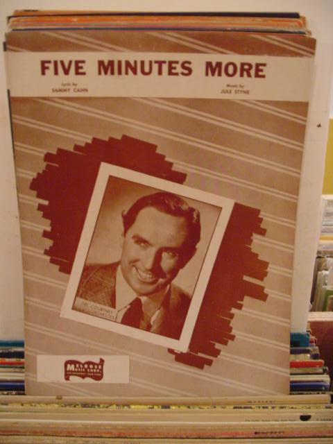 DEL COURTNEY - FIVE MINUTES MORE