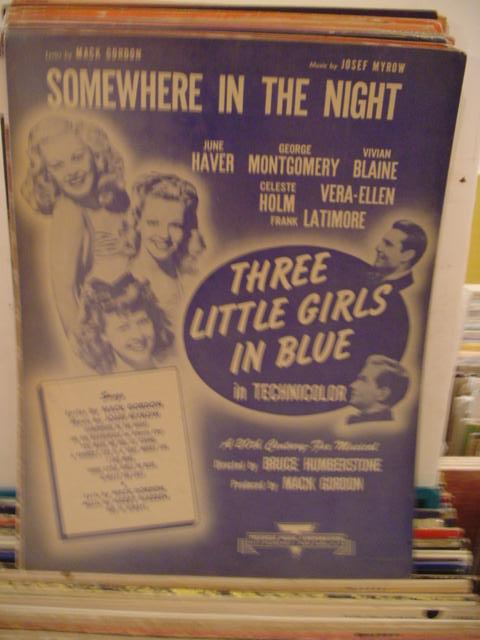 JUNE HAVER - SOMEWHERE IN THE NIGHT