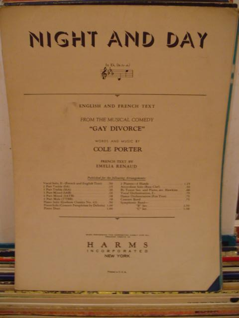 COLE PORTER - NIGHT AND DAY