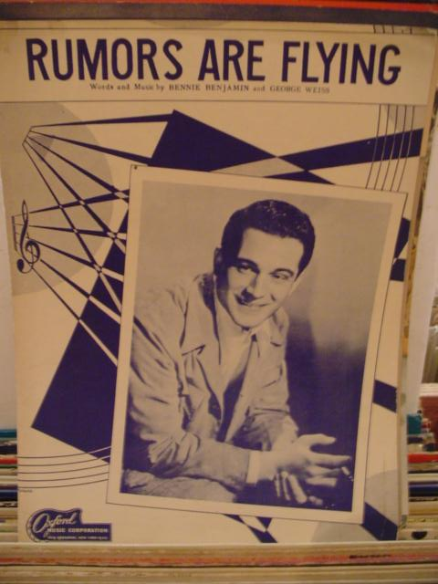 PERRY COMO - RUMORS ARE FLYING