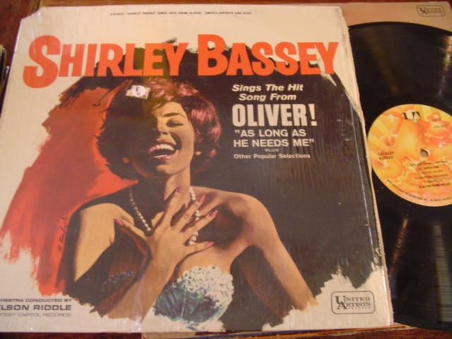 SHIRLEY BASSEY - SINGS from OLIVER - UA 1962 - F 5
