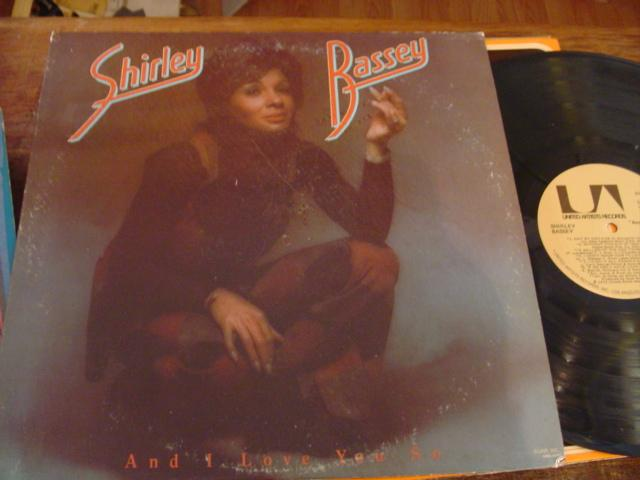 SHIRLEY BASSEY -and I love you so - UA 1972 - F 9