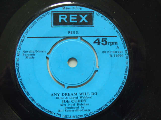 REX R.11090 - JOE CUDDY - ANY DREAM WILL DO