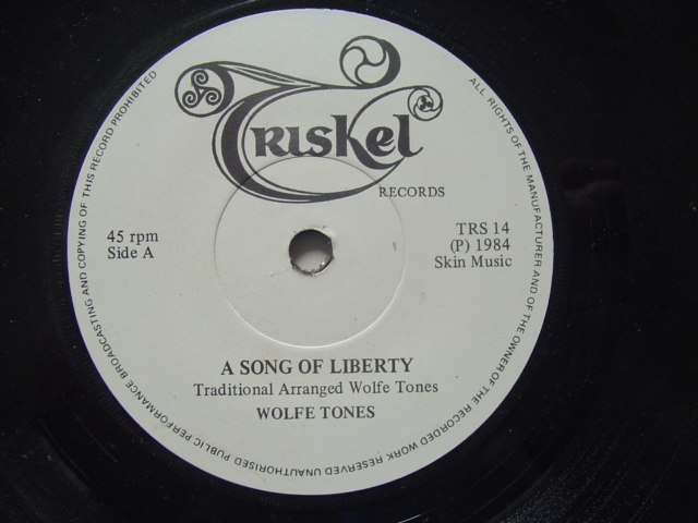 THE WOLFE TONES - SONG OF LIBERTY - TRISKEL
