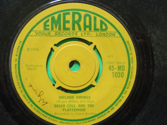 Emerald MD.1030 - BRIAN COLL & PLATTERMEN - IRELAND SWINGS