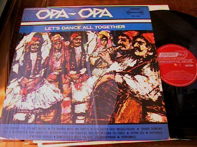 OPA OPA - GREEK LP - LETS DANCE TOGETHER - LONDON