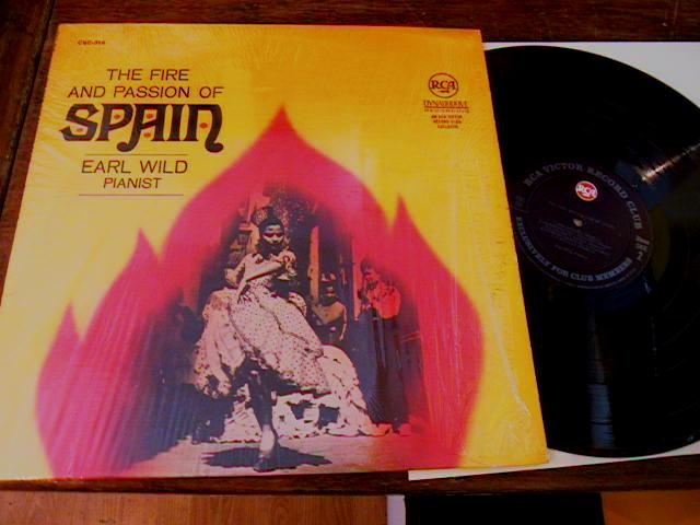 EARL WILD - PIANO - FIRE & PASSION OF SPAIN - RCA