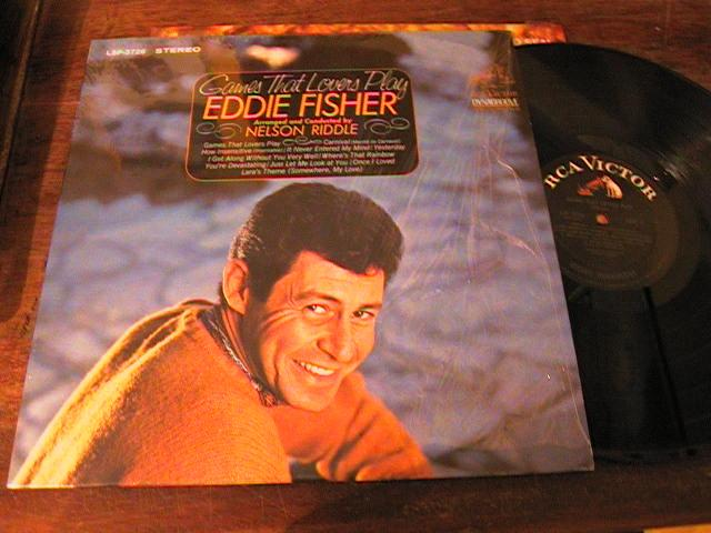 EDDIE FISHER - GAMES THAT LOVERS PLAY - RCA