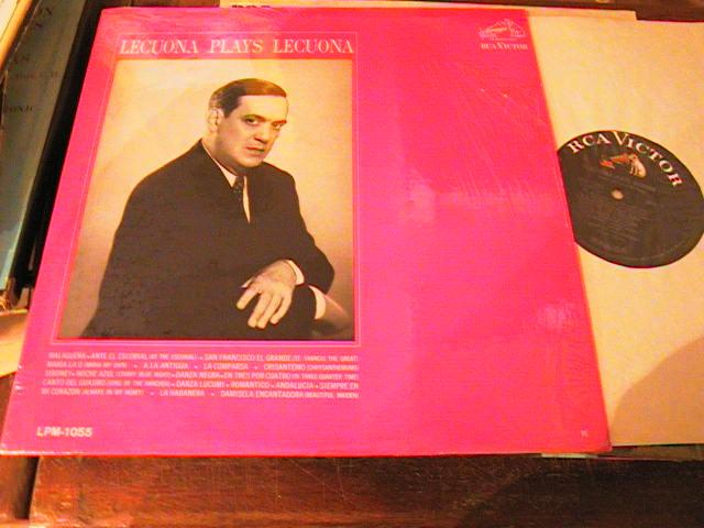 ERNEST LECUONA - PLAYS LECUONA PIANO - RCA