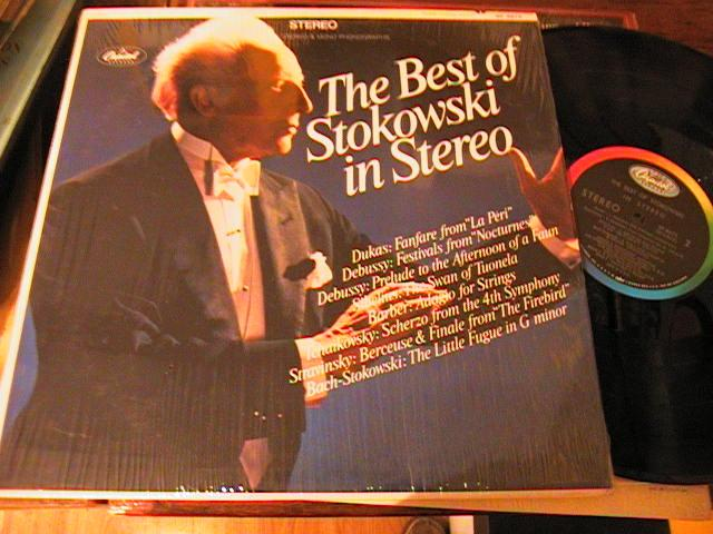 STOKOWSKI - THE BEST OF - IN STEREO - CAPITOL