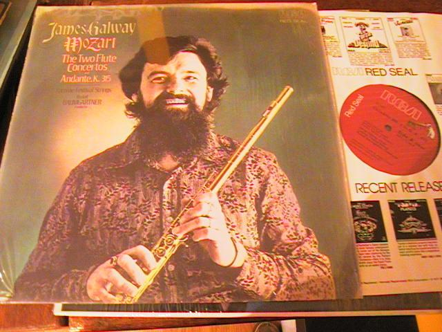 JAMES GALWAY - MOZART - TWO FLUTE CONCERTOS - RCA