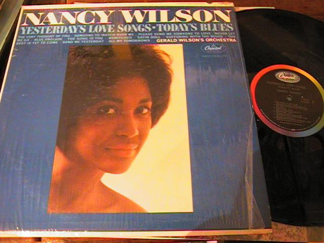 NANCY WILSON - YESTERDAY LOVE SONGS - CAPITOL