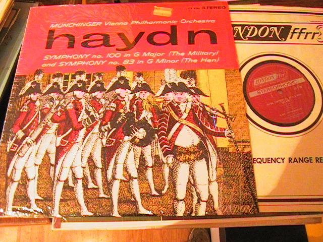 HAYDN SYMPH No 100 - MUNCHINGER - LONDON