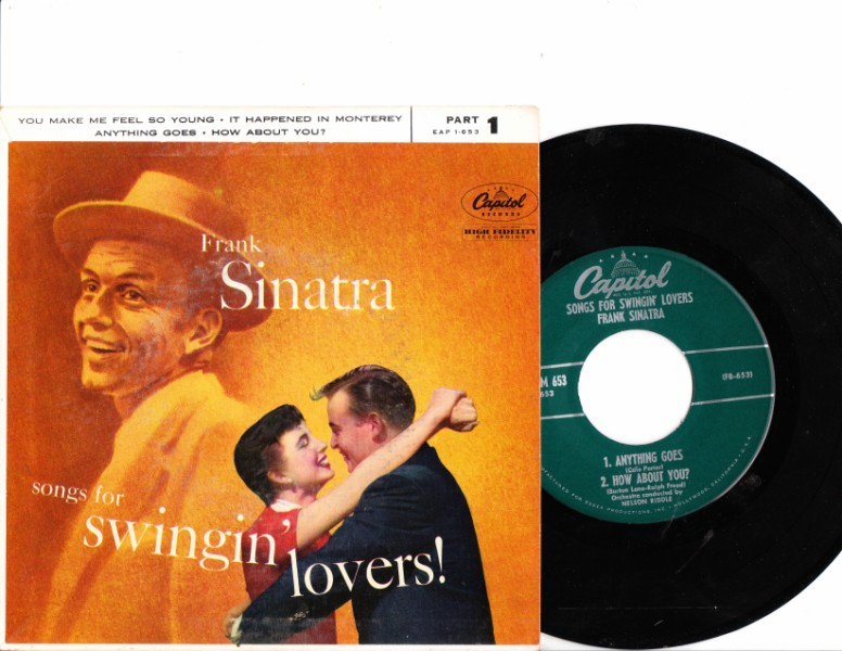 FRANK SINATRA - SWINGING LOVERS - CAPITOL N MINT EP