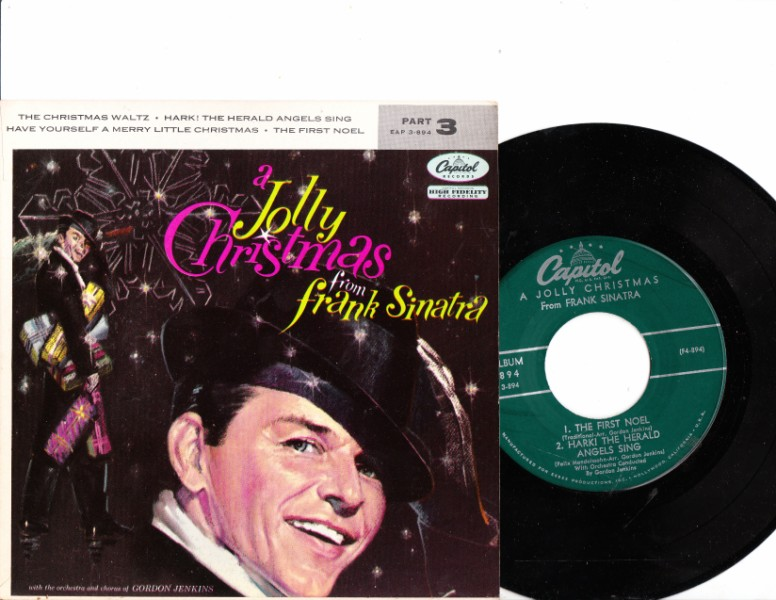 FRANK SINATRA - A JOLLY CHRISTMAS - CAPITOL EP