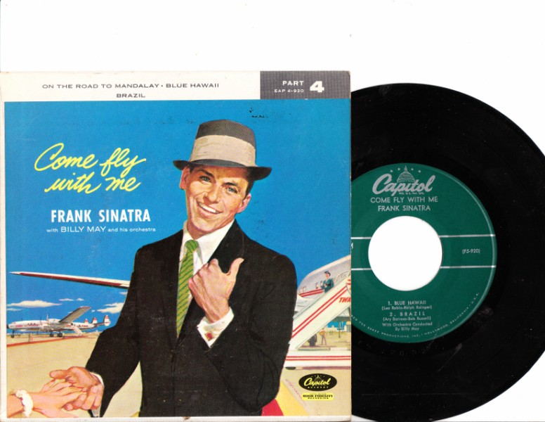 FRANK SINATRA - COME FLY WITH ME - CAPITOL EP