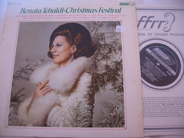 TEBALDI - CHRISTMAS FESTIVAL - LONDON { FV 131