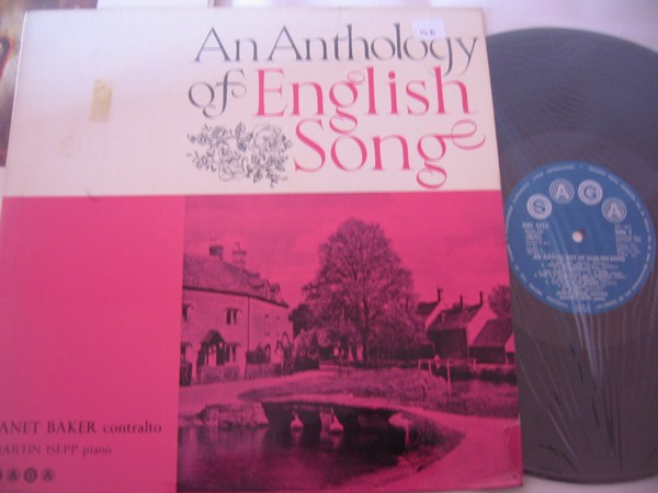 JANET BAKER - ANTHOLOGY ENGLISH SONG - SAGA { FV 123