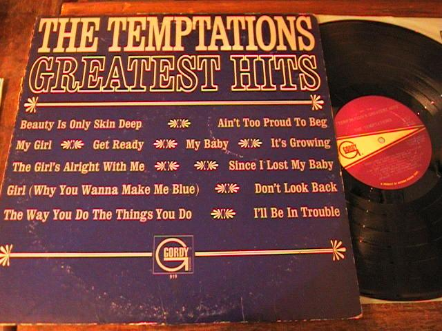 THE TEMPTATIONS - GREATEST HITS - GORDY 1966