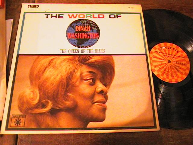 DINAH WASHINGTON - THE WORLD OF - ROULETTE