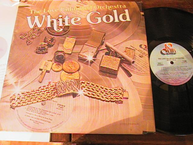 LOVE UNLIMITED ORCH - WHITE GOLD - 1974