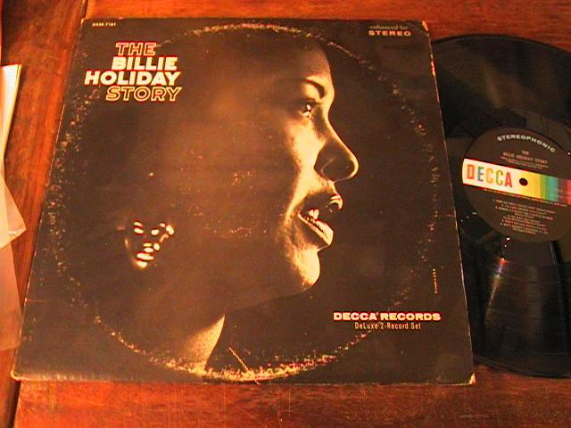 BILLIE HOLIDAY - THE BILLIE STORY- DECCA 2 LP
