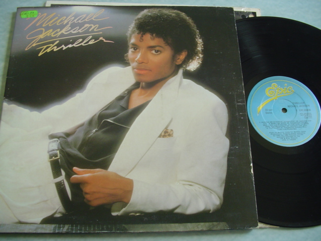 MICHAEL JACKSON - THRILLER - IRISH PRESSING