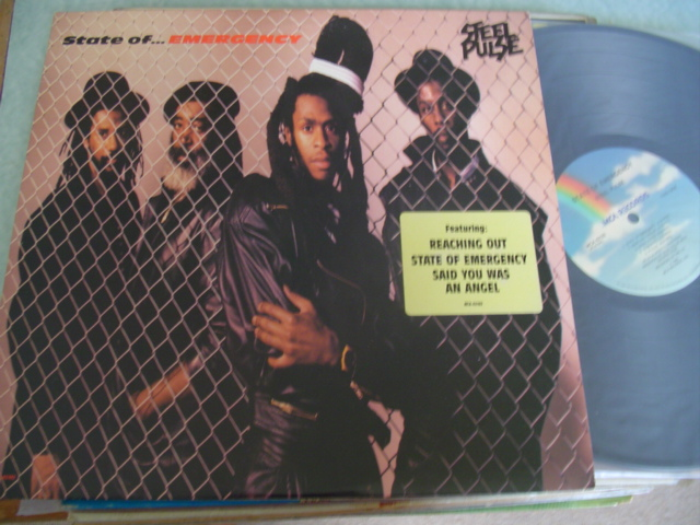 STEEL PULSE - STATE OF EMERGENCY - MCA