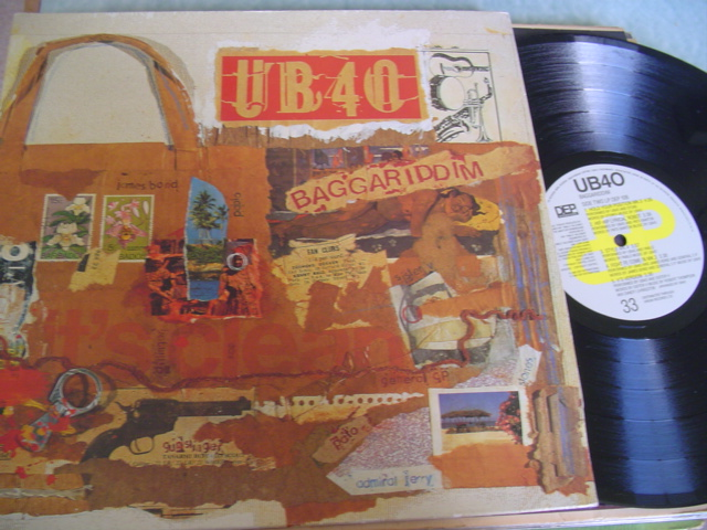 UB 40 - BAGGARIDDIM - 2LP DEP RECORDS