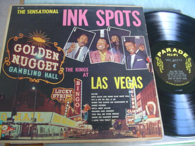 INK SPOTS - THE KINGS LAS VEGAS - PARADE RECORDS
