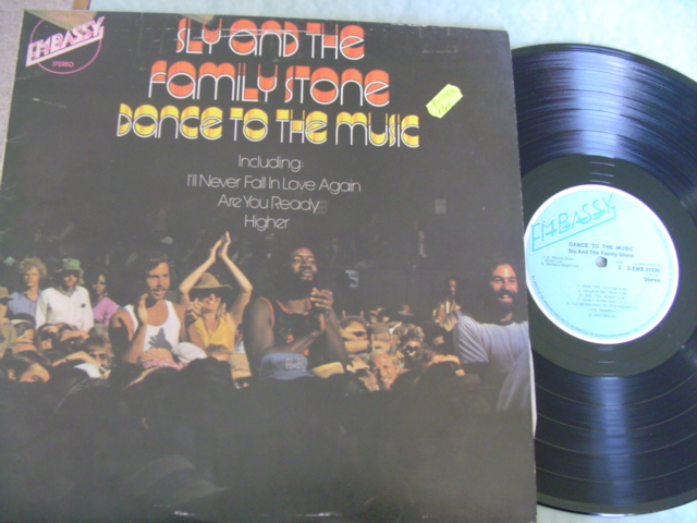 SLY & FAMILY STONE - DANCE TO THE MUSIC - EMBASSY
