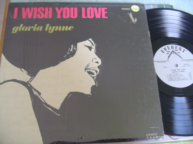 GLORIA LYNNE - I WISH YOU LOVE - EVEREST