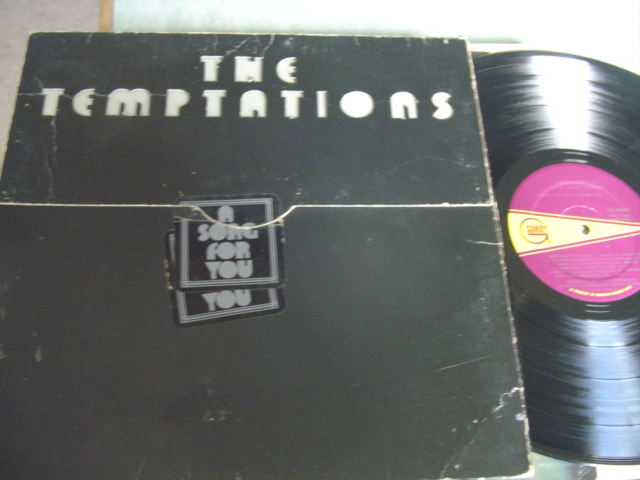 THE TEMPTATIONS - A SONG FOR YOU - GORDY