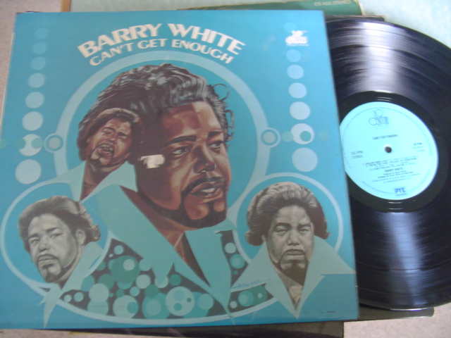 BARRY WHITE - CANT GET ENOUGH - PYE UK