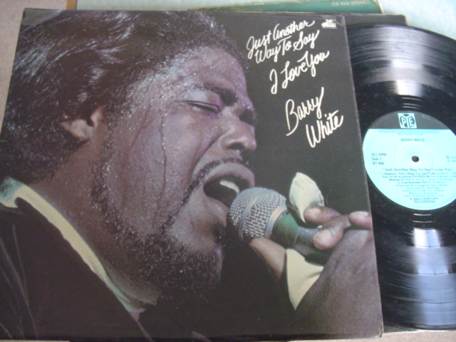 BARRY WHITE - JUST ANOTHER - PYE IRISH PRESS