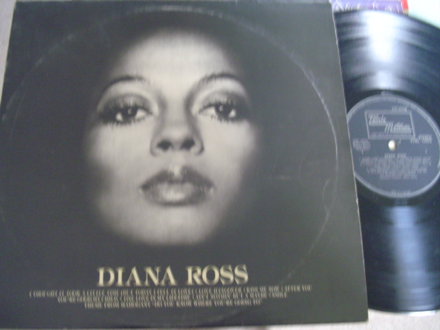 DIANA ROSS - SELF TITLE - TAMLA MOTOWN UK