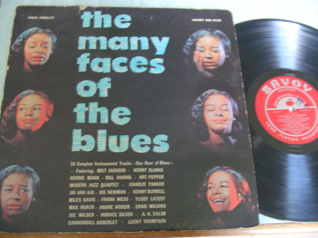 VARIOUS ARTISTS , MANY FACES OF THE BLUES - SAVOY 12125