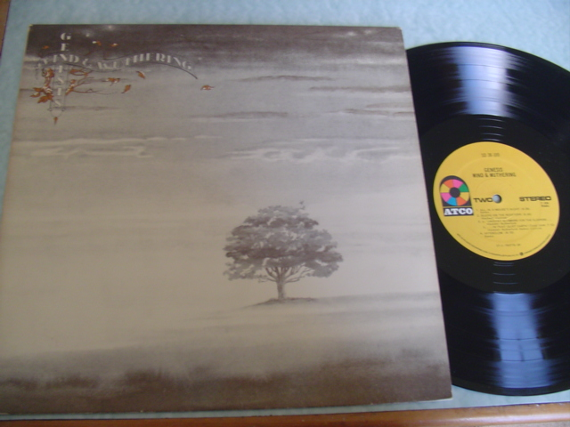 GENESIS - WIND & WUTHERING - ATCO SD 38-100