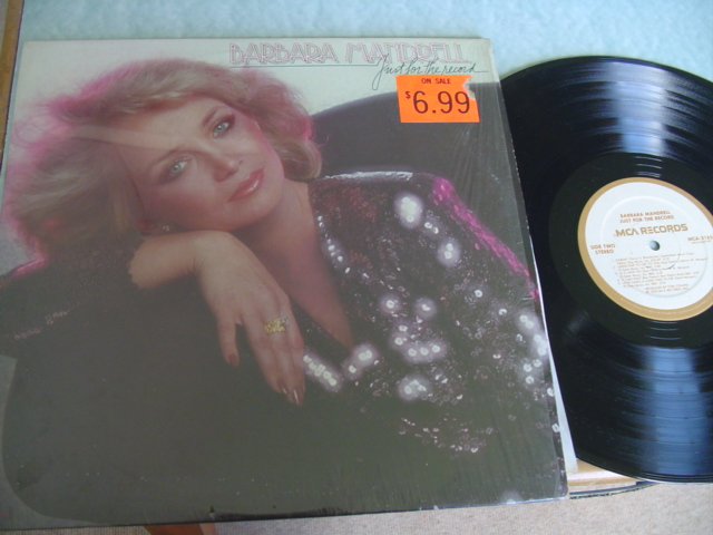 BARBARA MANDRELL - JUST FOR THE RECORD - MCA