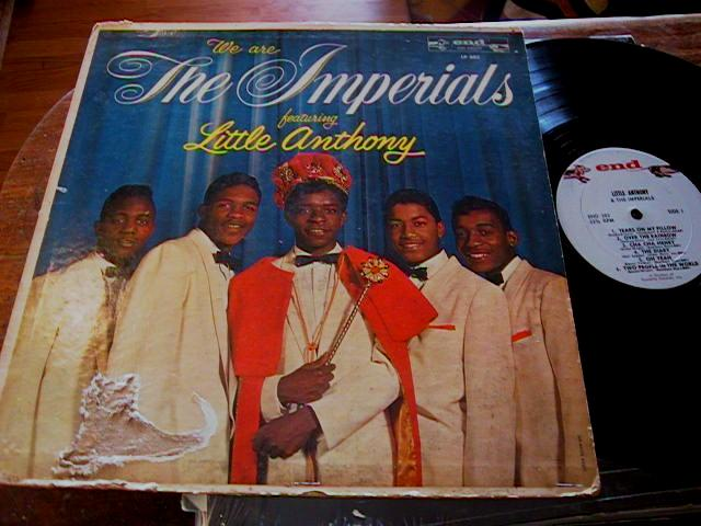 THE IMPERIALS - LITTLE ANTHONY - WE ARE - END