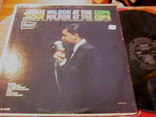 JACKIE WILSON - AT THE COPA - BRUNSWICK