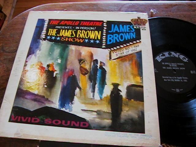 JAMES BROWN - THE APOLLO THEATRE - KING RECORDS