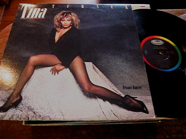 TINA TURNER - PRIVATE DANCER - CAPITOL