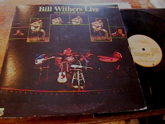 BILL WITHERS - CARNEGIE HALL 2LP - SUSSEX 7025-2