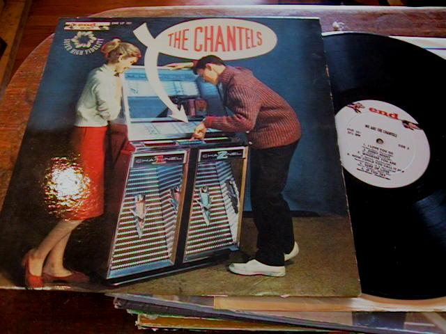 THE CHANTELS - SELT TITLE - END RECORDS 301