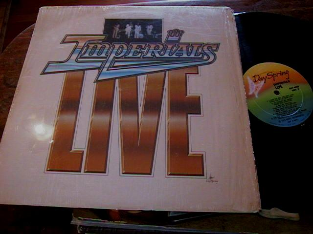 THE IMPERIALS gospel - LIVE - DAY SPRING RECORDS