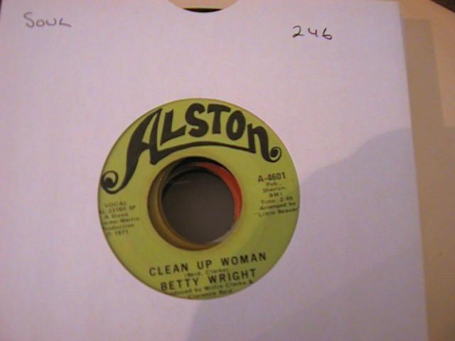 BETTY WRIGHT - CLEAN UP WOMAN - ALSTON 4601 { 246