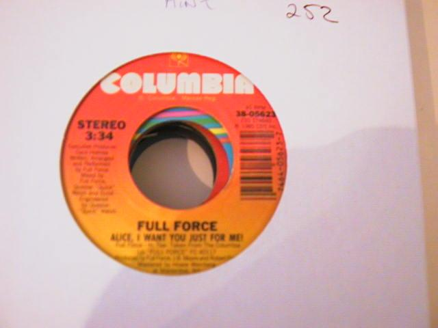 FULL FORCE - COLUMBIA 05623 { 252